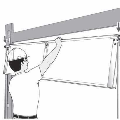 Standard Double Car Size Garage Door Installation Upto